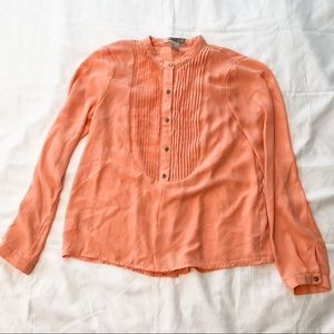 Salmon Colored Button Down Dress Shirt